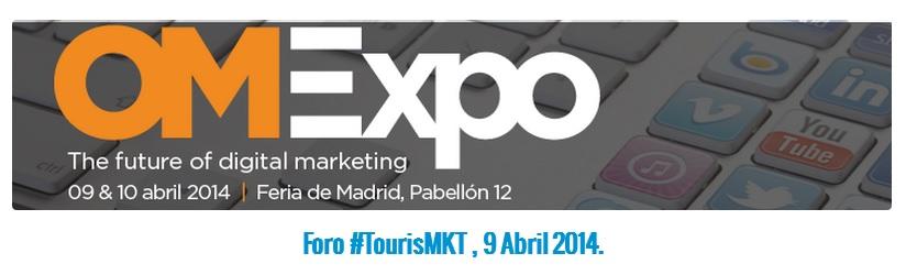 Estrategias digitales de márketing turístico en #TourisMKT OMExpo