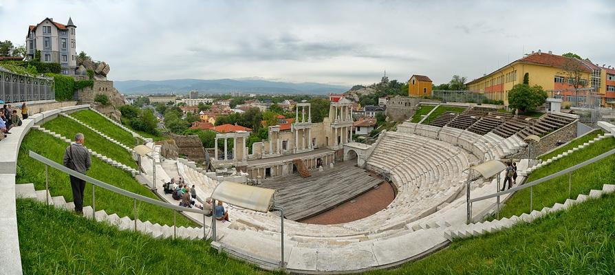 Regreso a Plovdiv (Bulgaria)