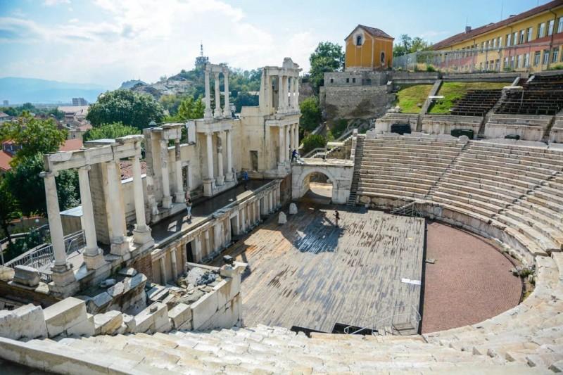 Plovdiv es, como Bulgaria, una encrucijada de designios y expectativas dispares