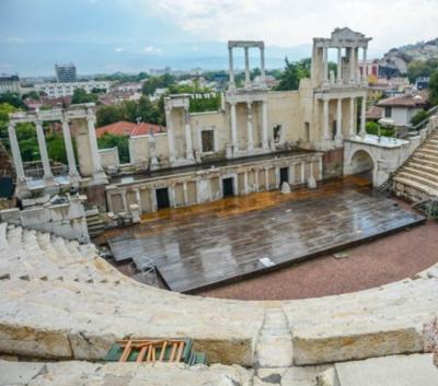 El Teatro Romano de Plovdiv, Sofia y el impresionante  monasterio  de  Rila