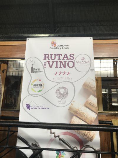 Presentación de II Feria de Enoturismo de Castilla y León