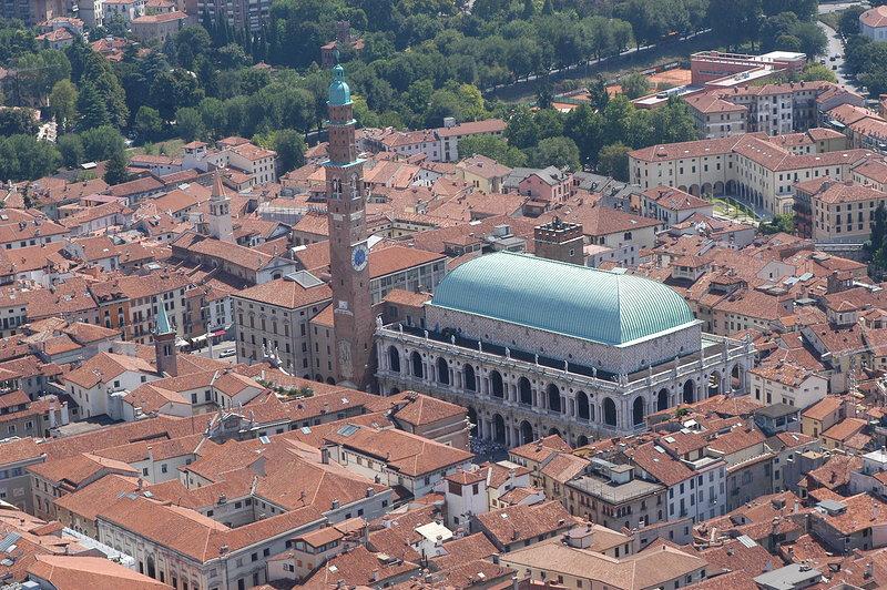 Vicenza, la ciudad de los palacios