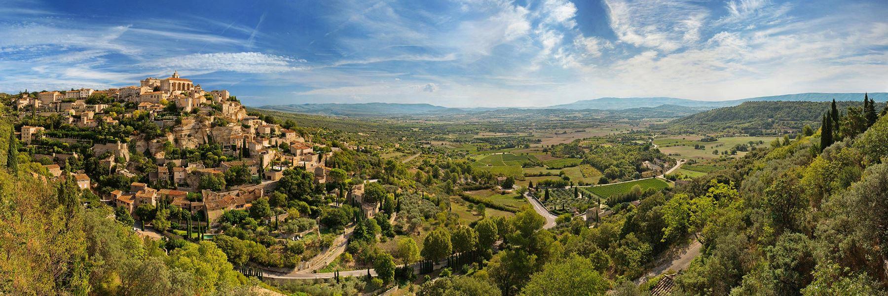 Vaucluse. Siete de los 100 pueblos más bellos de Francia están en esta comarca