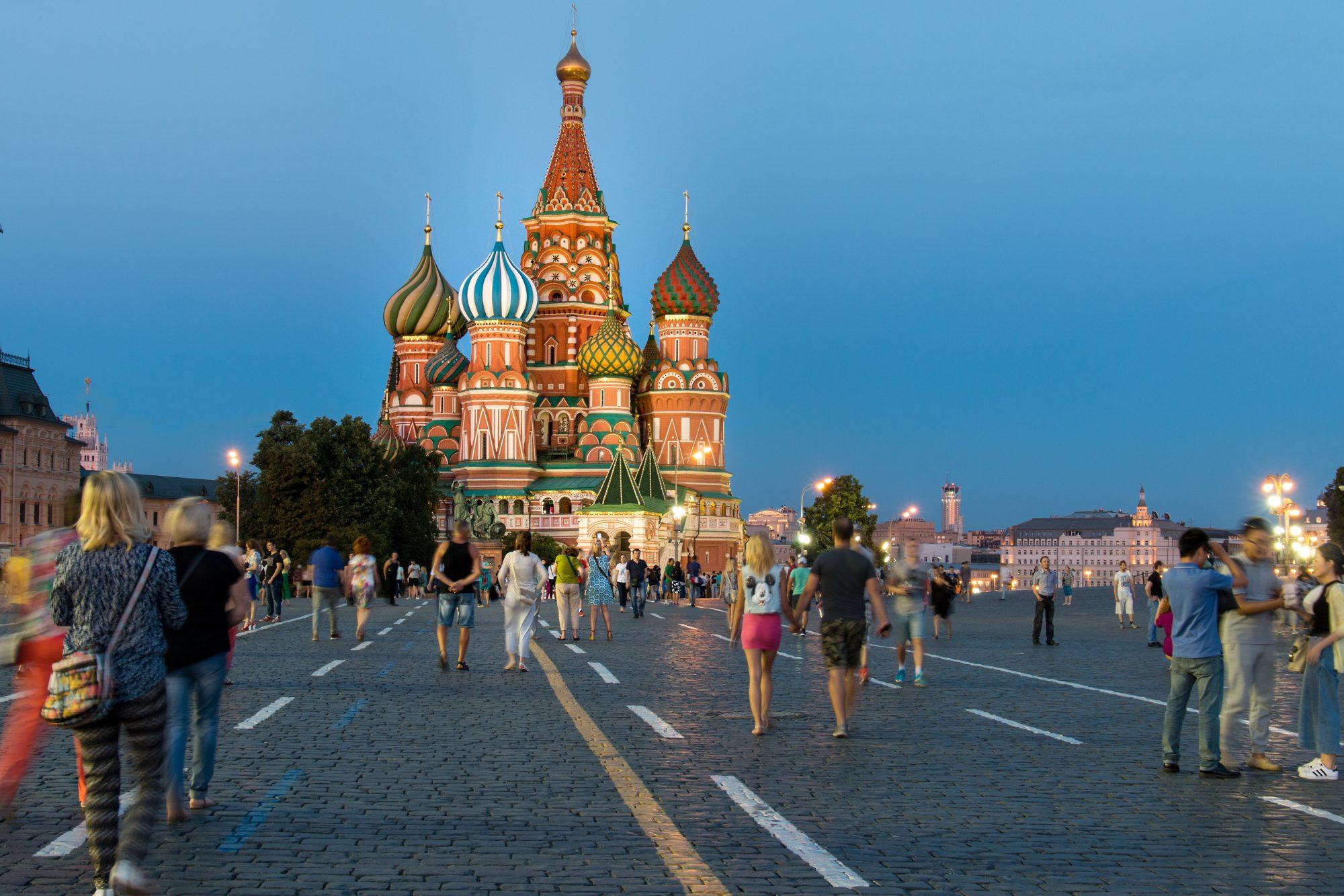 La nueva Moscú se muestra orgullosa de arriba abajo