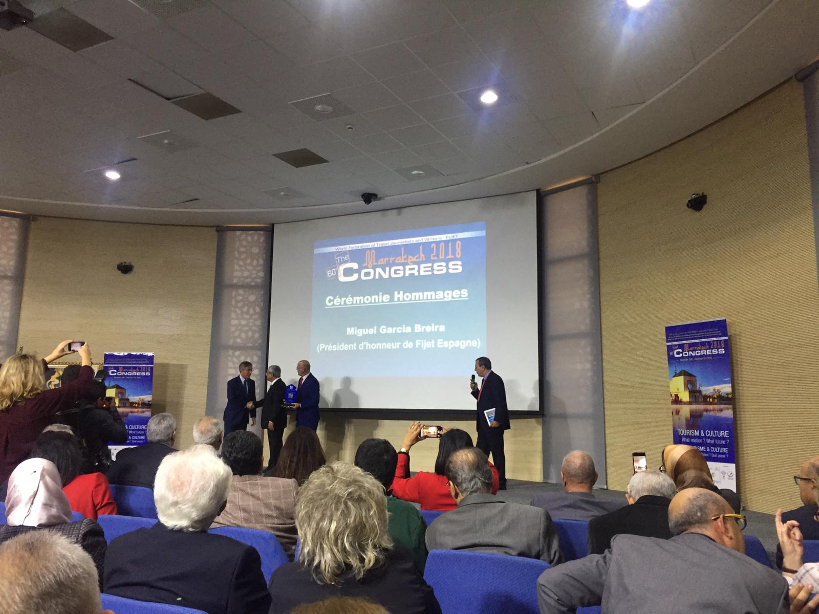 Marrakech 2018. 60 Congreso de FIJET