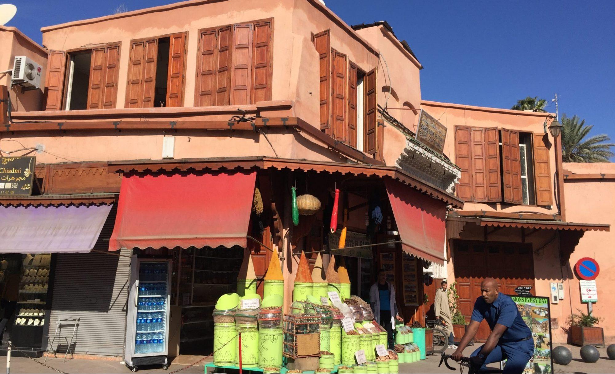 Marrakech, un universo de color y de aromas