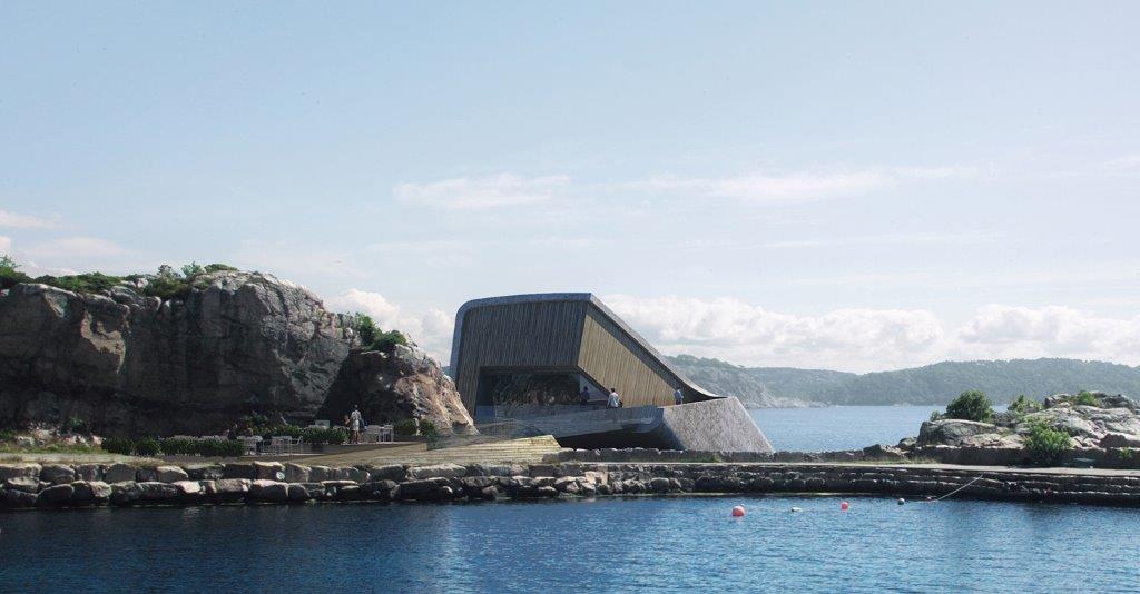 Arquitectura futurista en Noruega