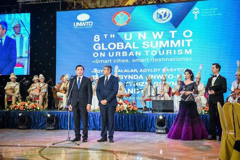 Líderes de ciudades de todo el mundo adoptan la Declaración de Nursultán sobre Ciudades Inteligentes en la Cumbre de Turismo Urbano celebrada en Kazajistán