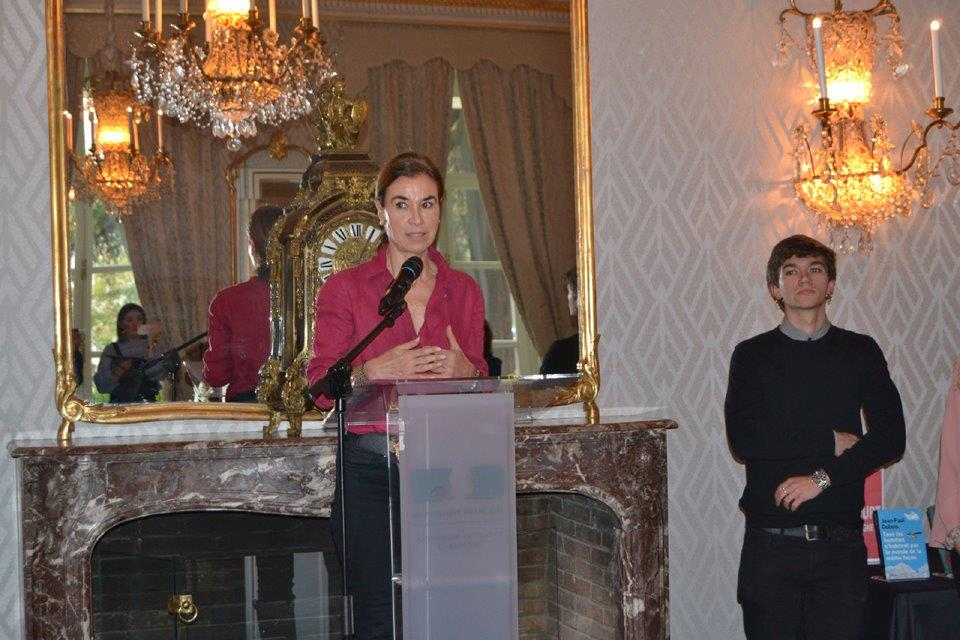 Jean Paul Dubois ganador del Premio Goncourt en España (2019), otorgado por el Jurado presidido por la escritora Carmen Posadas
