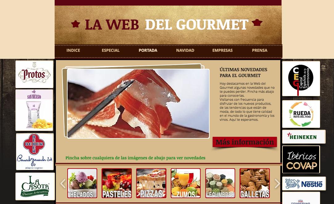Nace lawebdelgourmet.com, un espacio original para la buena gastronomía y los vinos