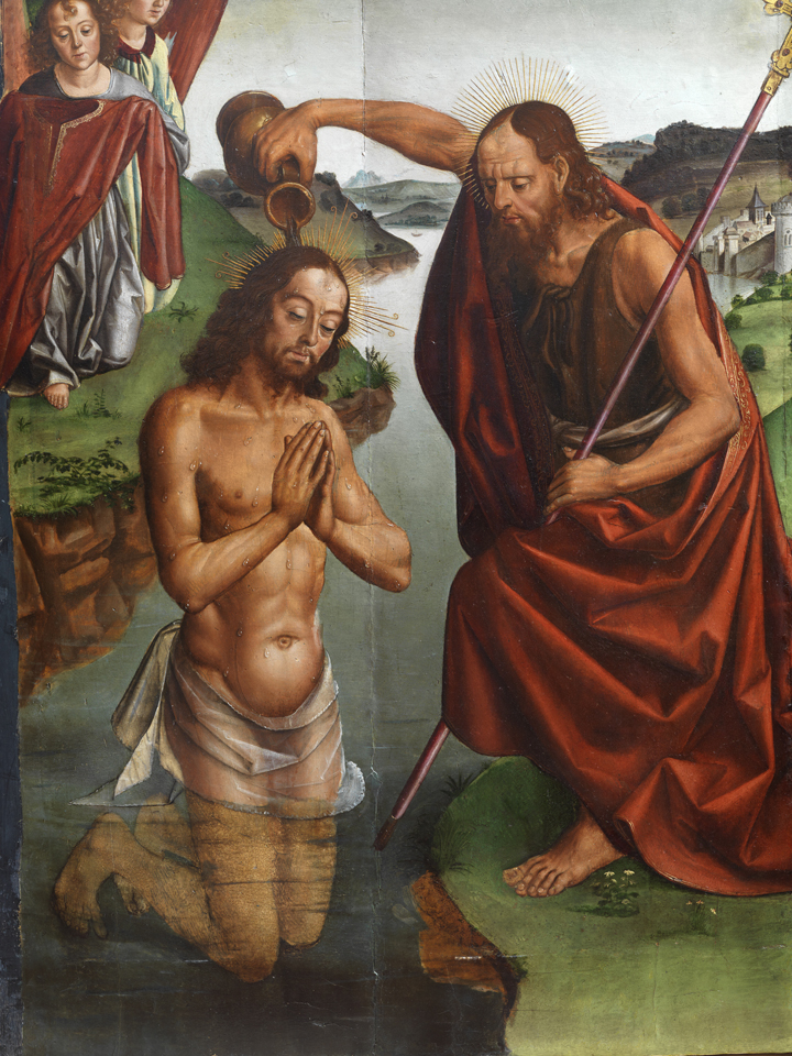 05_ Bautismo de Cristo_Pedro Berruguete_Santa María del Campo 2