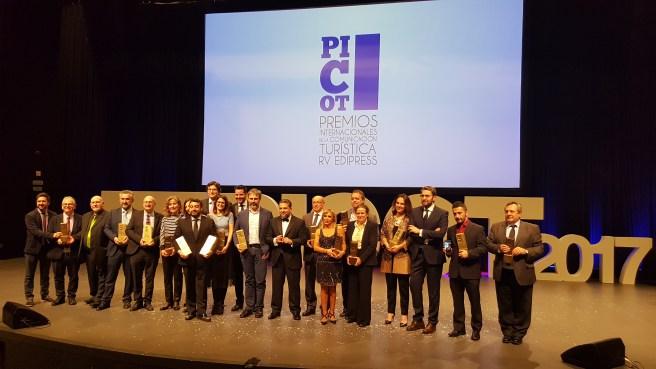 Entregados los premios «Picot» de Comunicación Turística