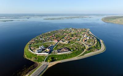 El Volga en Kazán, un mar fluvial lleno de historia