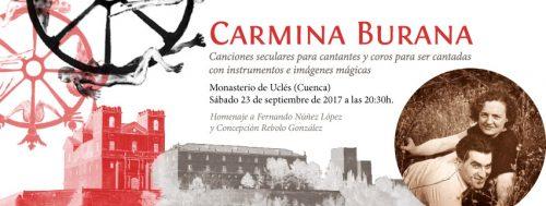 Presentación en Madrid de Carmina Burana, espectáculo único que se celebra en Uclés el 23 de septiembre