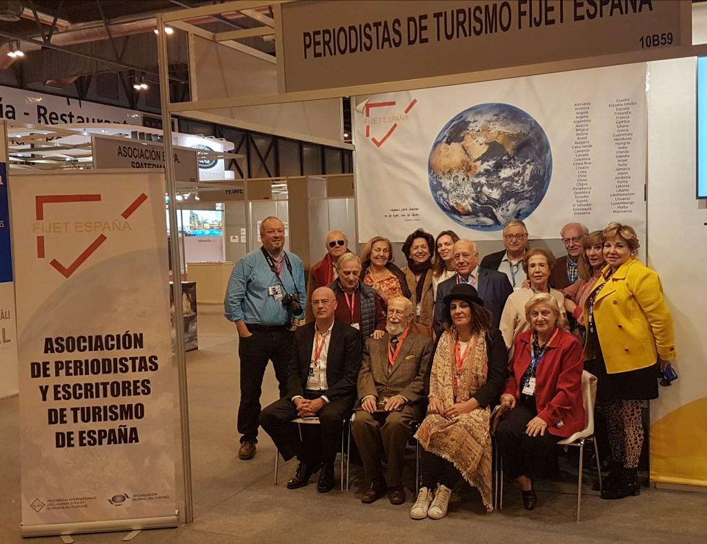 FIJET España (Federación Internacional de Periodistas y Escritores de Turismo) celebró su asamblea anual en el marco de FITUR
