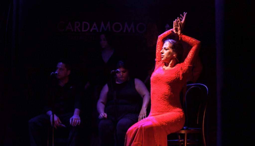 Las mujeres protagonistas del mejor Flamenco de Madrid en Cardamomo