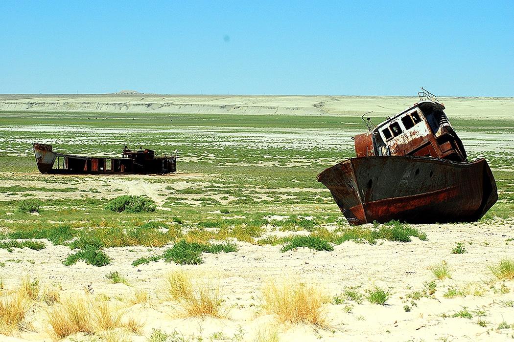 La agónica muerte del mar de Aral