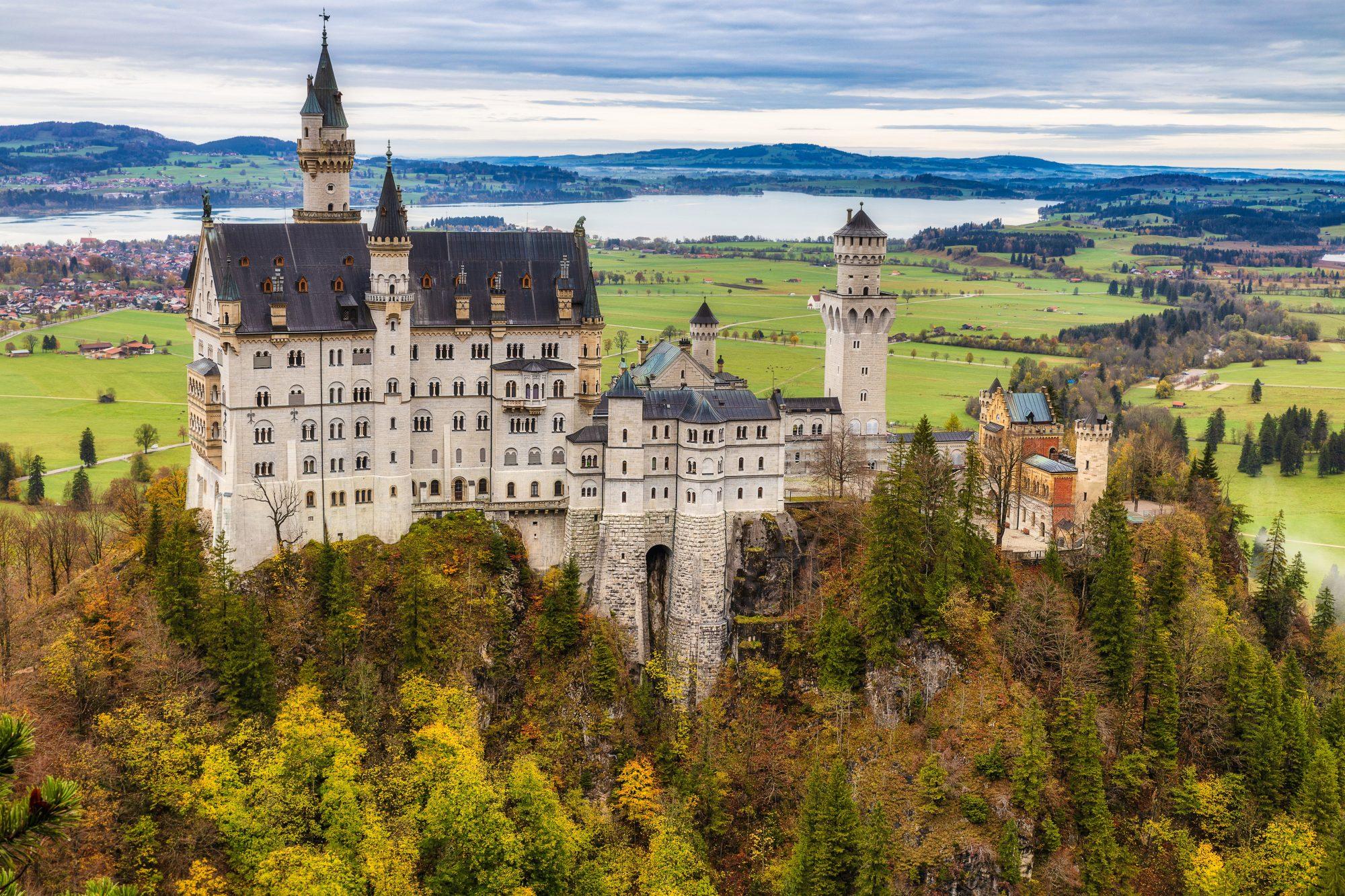 Estos son los castillos más deslumbrantes de Europa