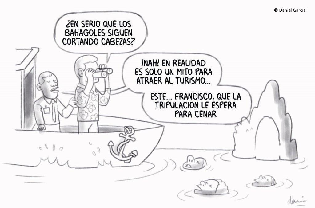 Viaje a Bahagol, según Daniel García