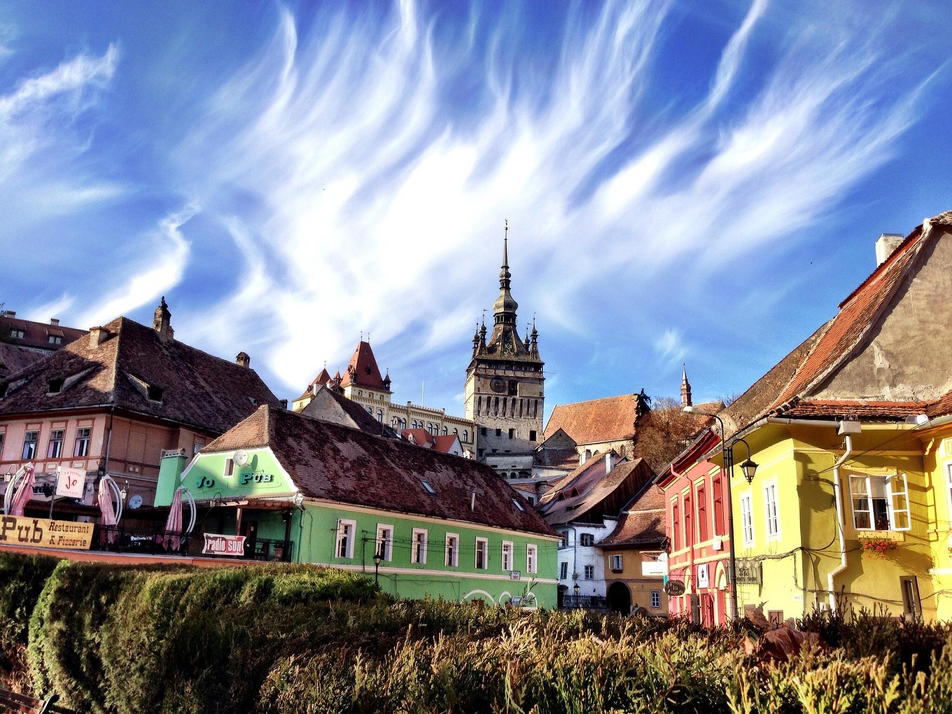 Sighisoara la ciudad mágica de Transilvania